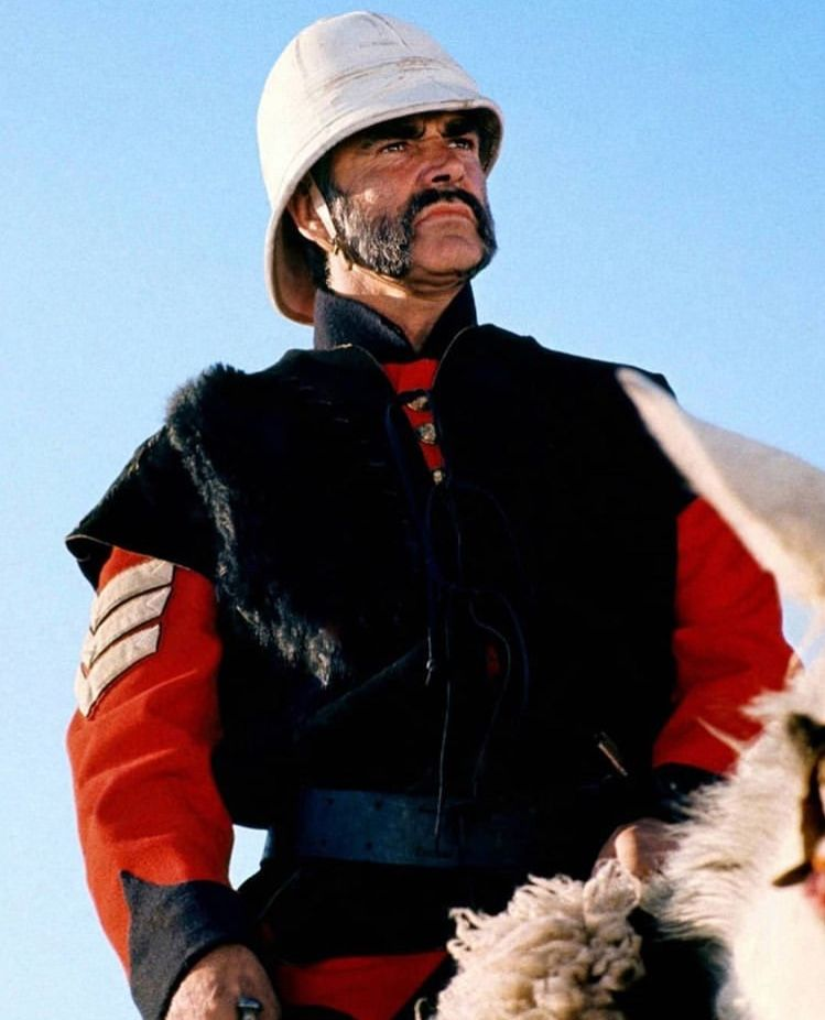 """Sean Connery in """"The Man who would be King"""" (1975) 