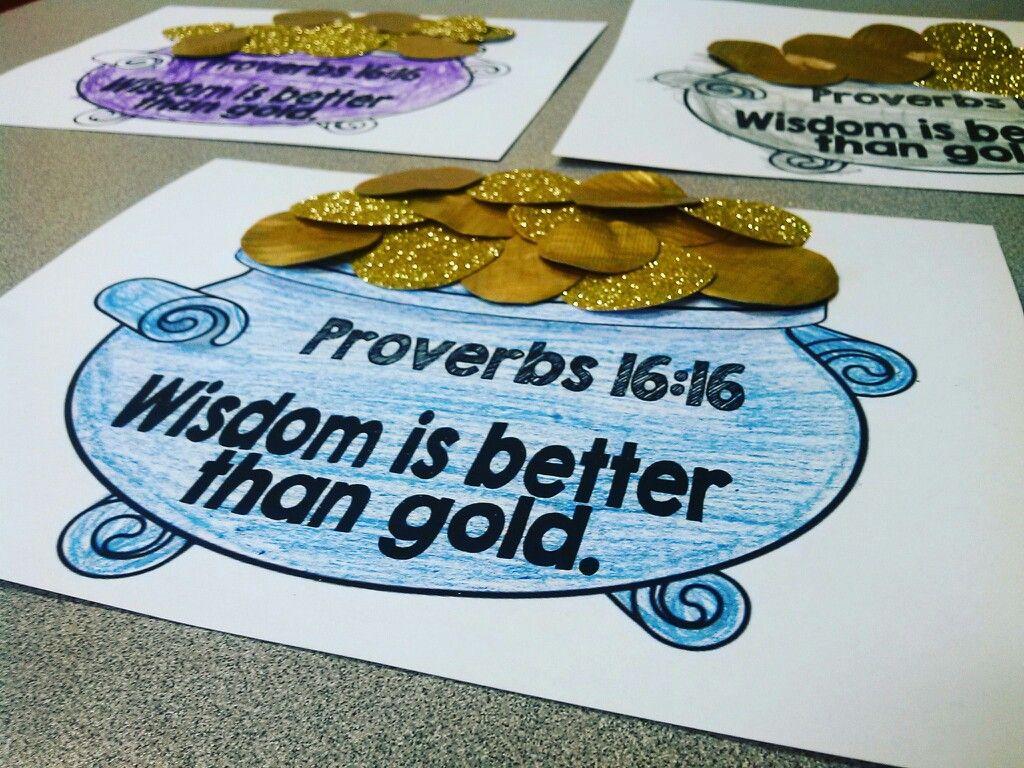 Solomon Wisdom Craft Kindergarten Preschool Craft Sunday