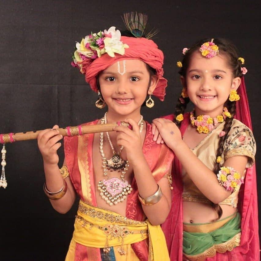 Cute Little Radhakrishn Radha Krishna Holi Baby Krishna Little Krishna Here is a nice full hd wallpapers free and images of lord krishna and radha. radha krishna holi baby krishna
