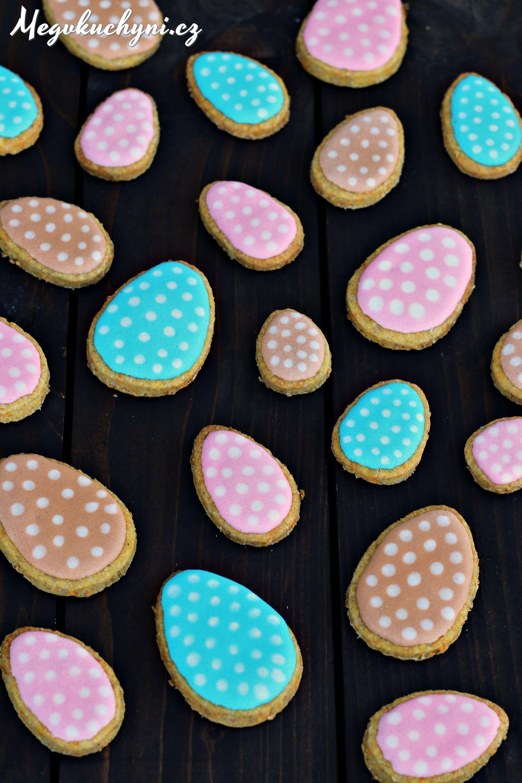 Velikonoční mrkvové sušenky   Easter carrot cookies