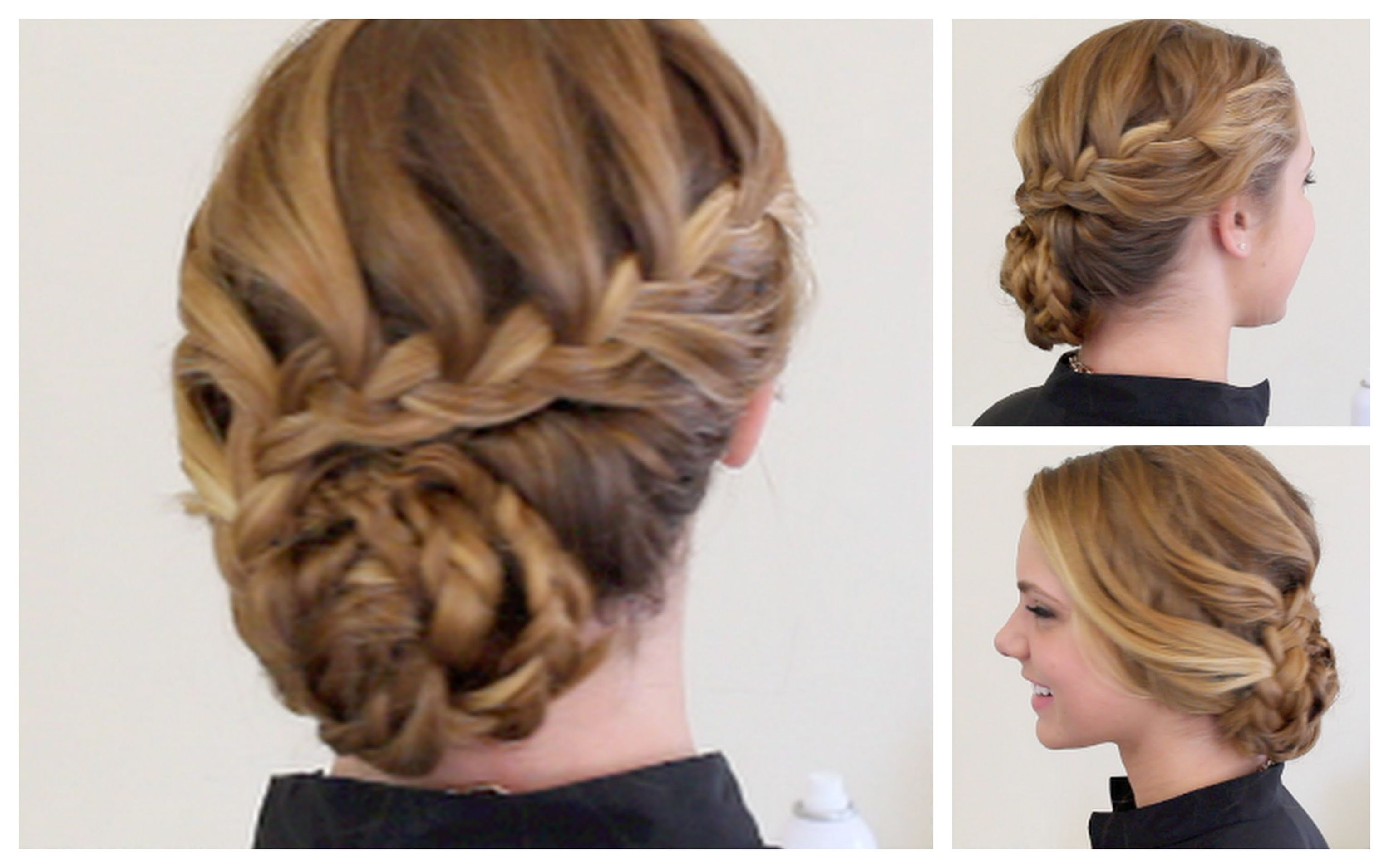 Hairstyles braids with hair up fashion pinterest