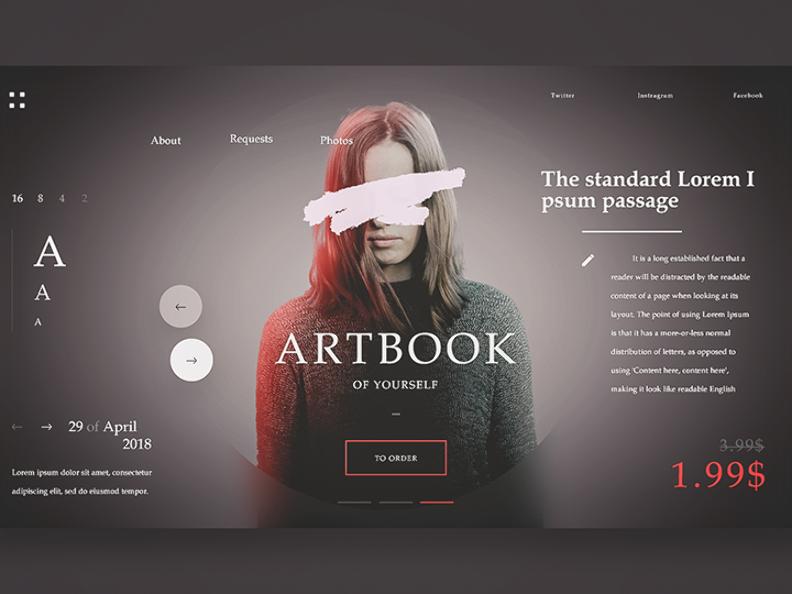 45+ Website Header Ui Design Ideas