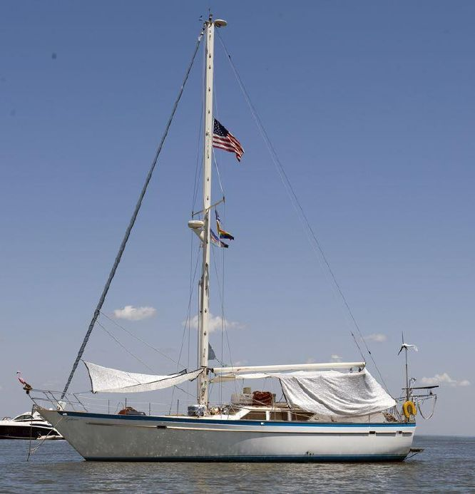 1984 Gulfstar Sailmaster 50 Sail Boat For Sale - www.yachtworld.com