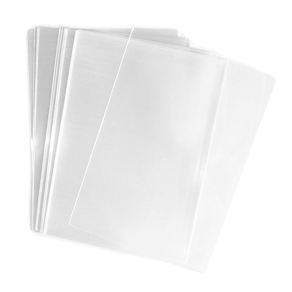 100 Pcs 4x6 (O) Clear - Flat - Cello/Cellophane Bags 4\' x 6\' Good ...