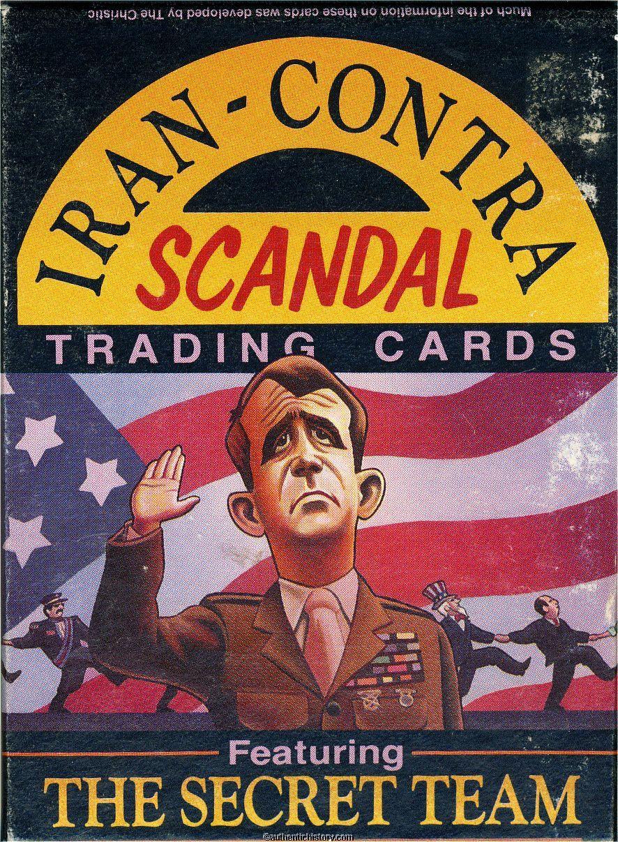 Irancontra Scandal Trading Cards, 1988
