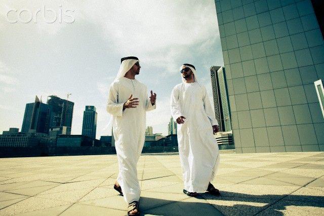 Arab Businessmen In The Dubai Business District U A E Dubai Business Business Man Photo