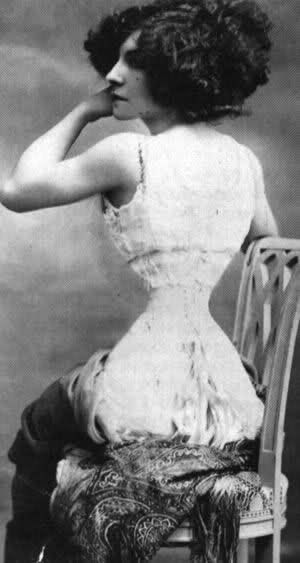 Mlle. Polaire Algerian-born French singer and actress, known for her remarkable measurements. Her smallest recorded measurements were 37-14-35.  Her waist absolutely terrifies me.