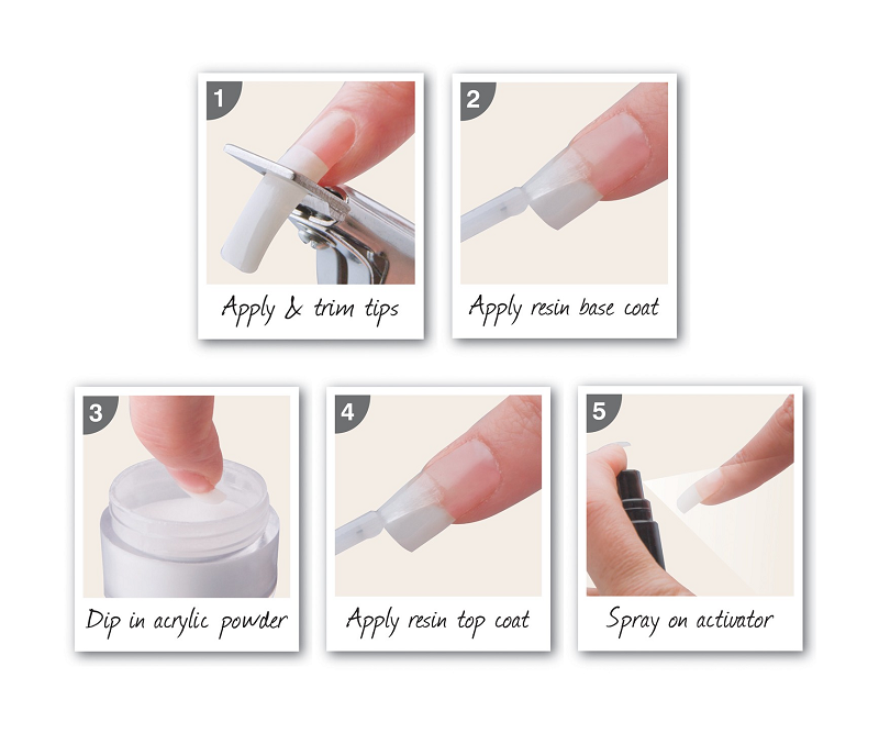 How To Take Off Acrylic Nails At Home Acrylic Nails At Home Diy Acrylic Nails Nails At Home