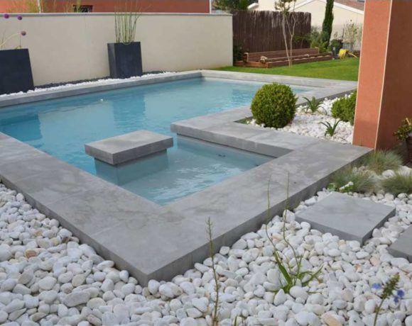 Aménagement de piscines, margelles et dallages Rouviere Collection