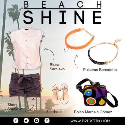 BEACH SHINE: Elementos básicos que te harán brillar a la hora de viajar.