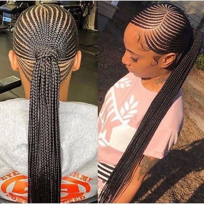 would you get this protective style for summer????? (tag source) - - - - - #braids #protectivestyle #protectivestyling #teamnatural… #protectivestyles