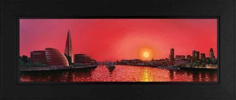 City Splendour, by Neil Dawson #art #London #Shard #Thames #cityscape