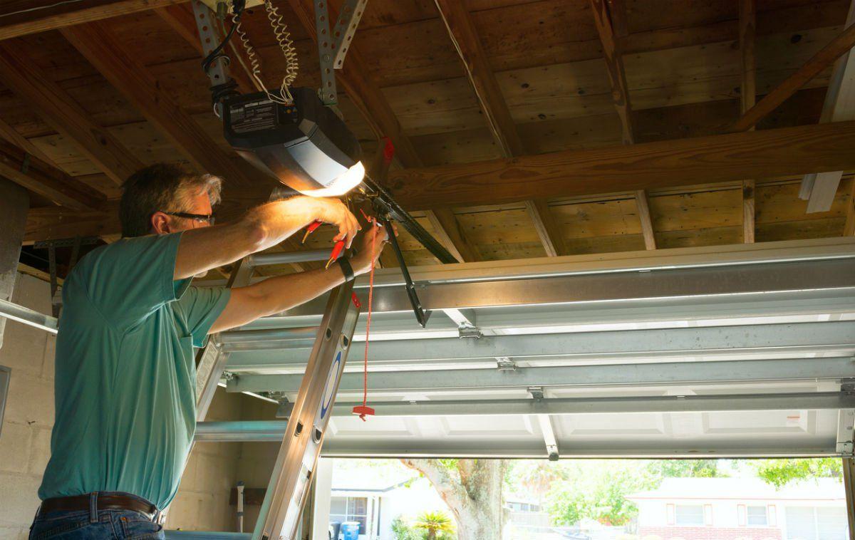 10 Ways To Improve Your Garage Lighting With Images Garage Door Opener Repair