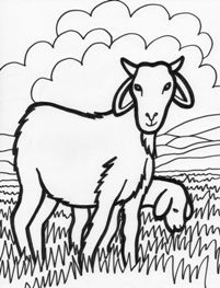 Planse De Colorat Animale Domestice Capra Farm Animals For