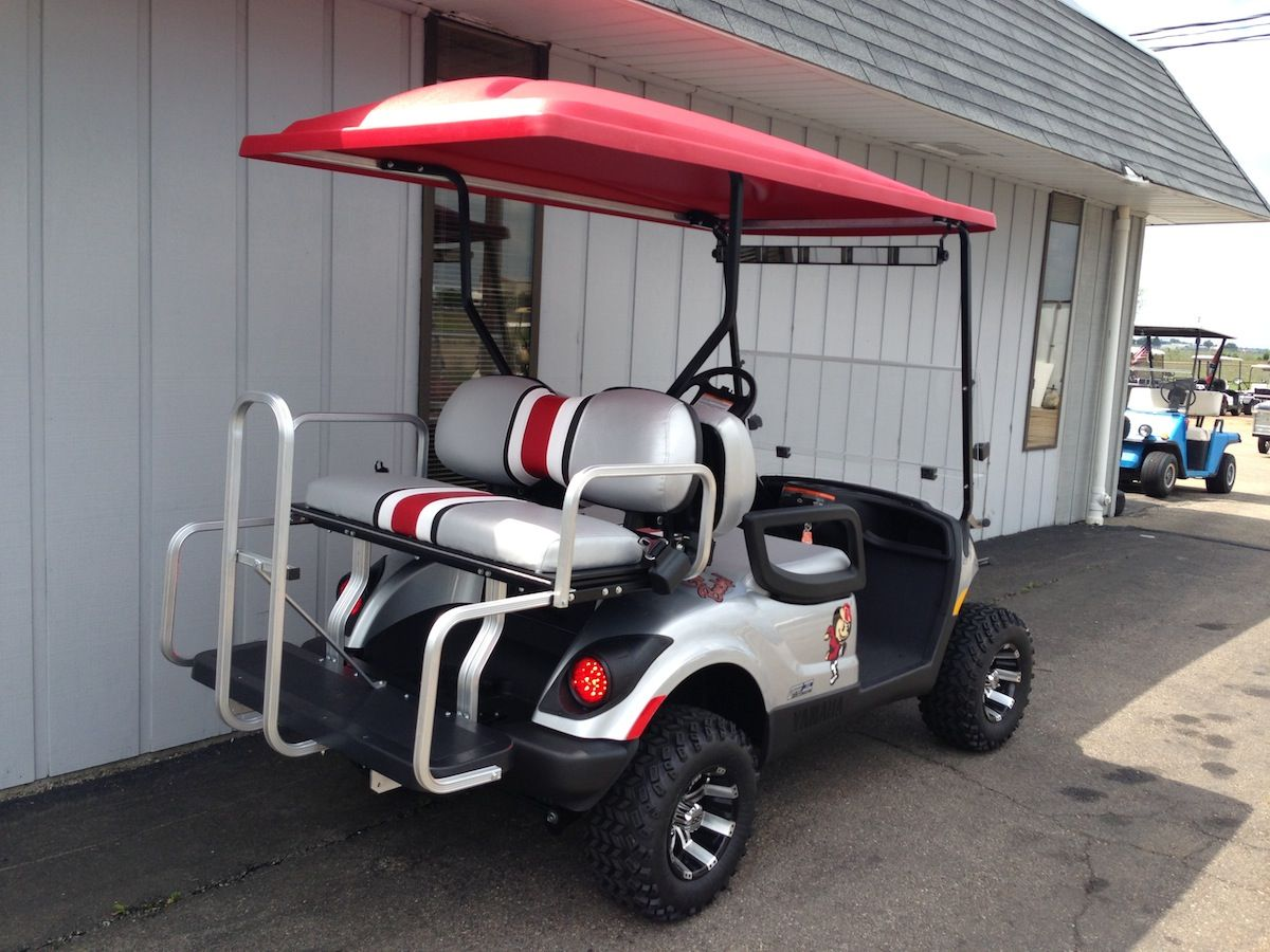 Power Equipment Solutions Ohio Dealer Of Custom Golf Carts Utility Vehicles Parts Accessories Powersports Mor Custom Golf Carts Custom Golf Golf Buggy