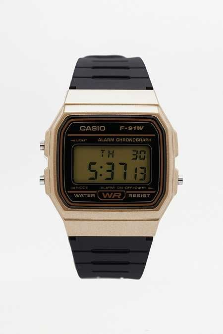 Casio F91W Retro Resin Strap Digital Watch  4ca19d4d94