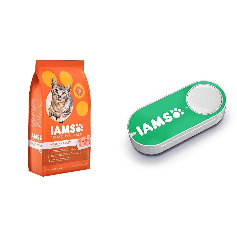 Iams proactive health healthy adult dry cat food with