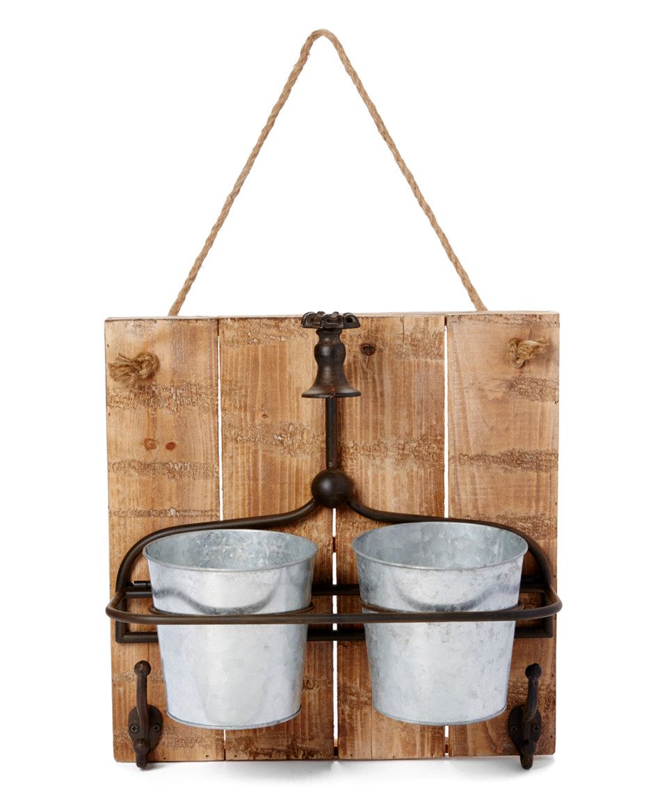 two pot tin planter by pd home and garden - Pd Home And Garden