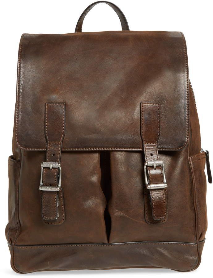 30771ffdc Frye Oliver Leather Backpack in 2019   Products   Leather Backpack ...