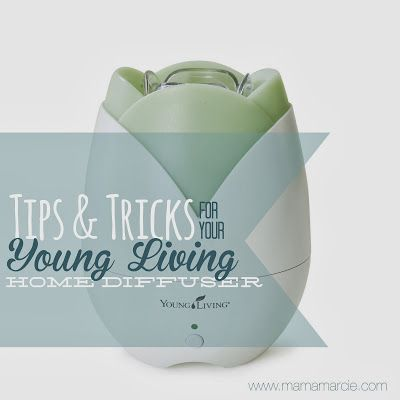 how to clean young living home diffuser