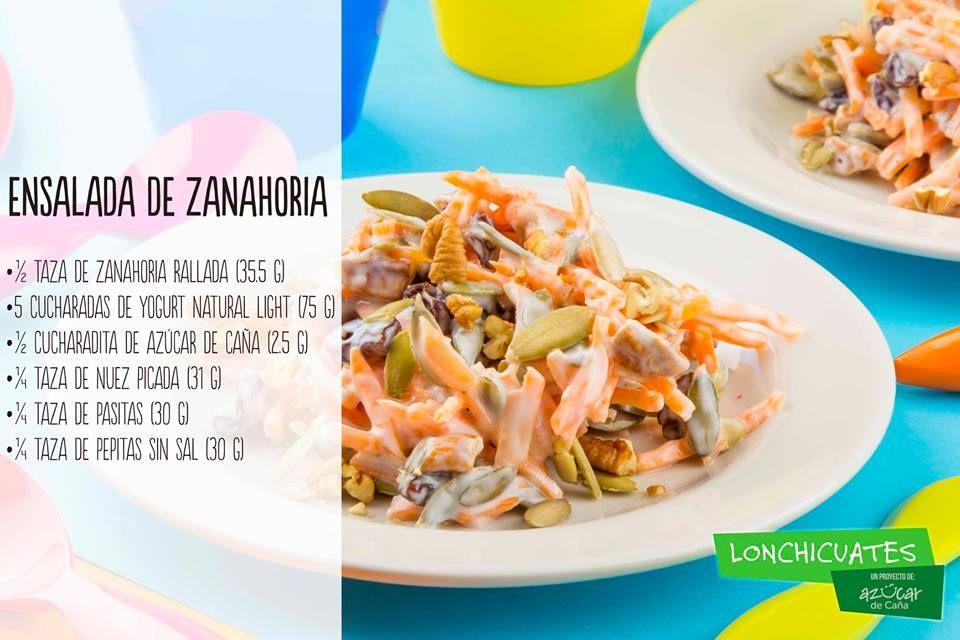 Ensalada dulce de zanahoria recipe salud and recetas - Dulce de zanahoria ...