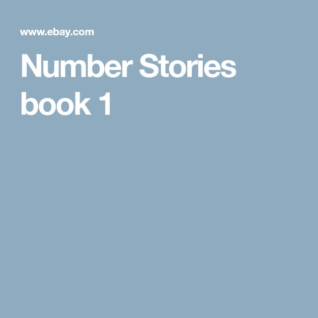 "Details About ""Number Stories"" Children's Math Curriculum"