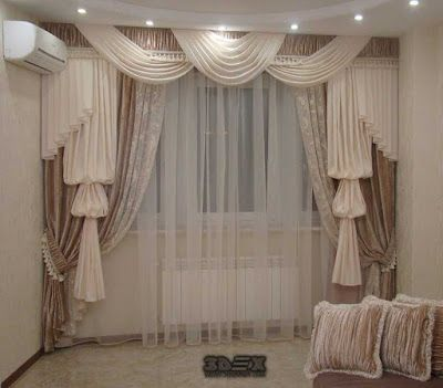 Modern Living Room Curtains Designs Ideas Colors Styles