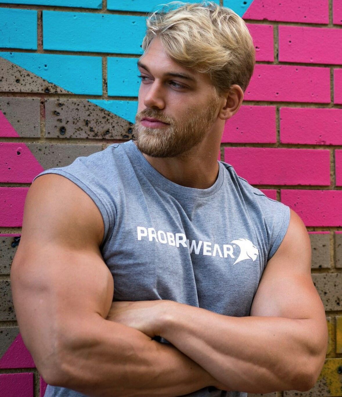 Mischa Janiec.. The Only Blond Guy Ive Ever Found