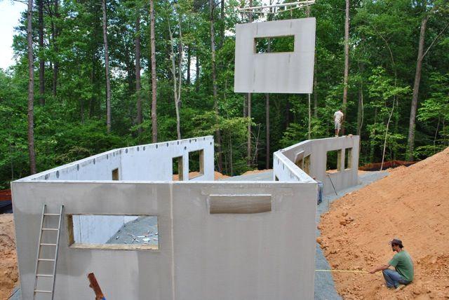 New Passive House In North Carolina Concrete House Concrete Houses Concrete Building