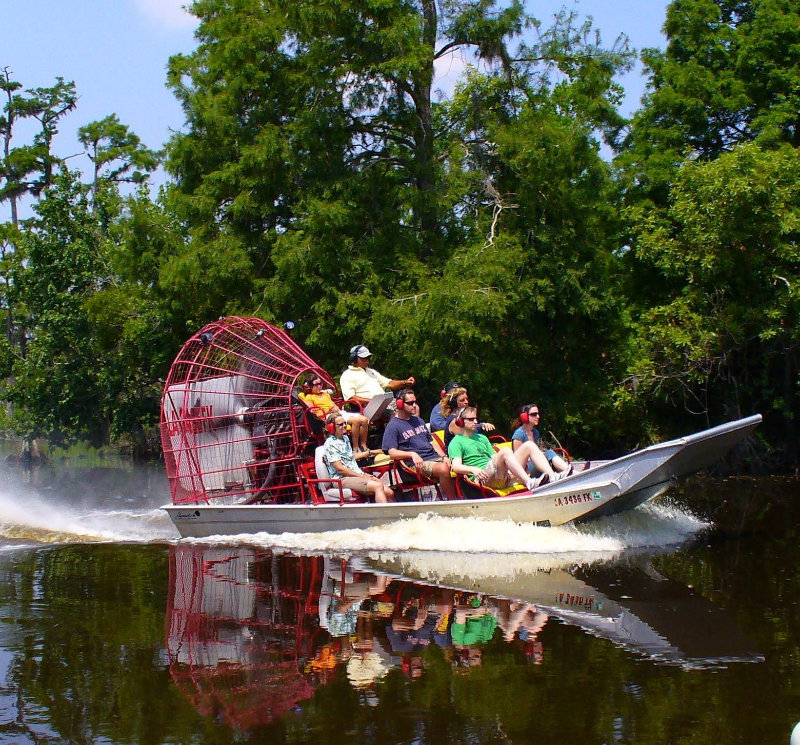 Airboat Adventures Lafitte, LA 30 minutes from French