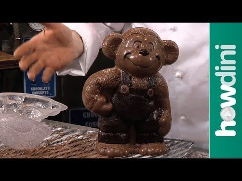 How To Make Hollow Chocolate Figures