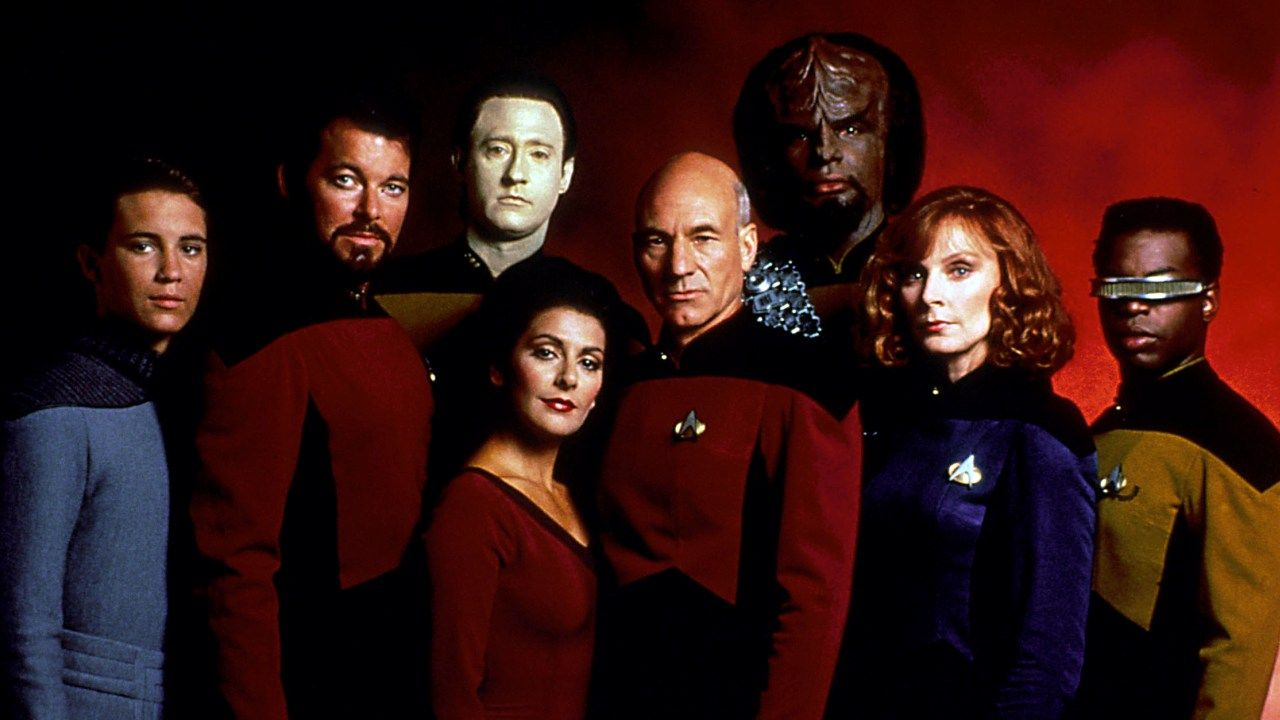 Star Trek Next Generation Characters Wallpaper Star Trek