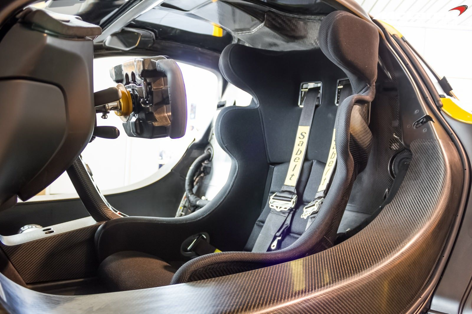 Track Focused Mclaren P1 Gtr Seat Nb Showroom Sssupersports