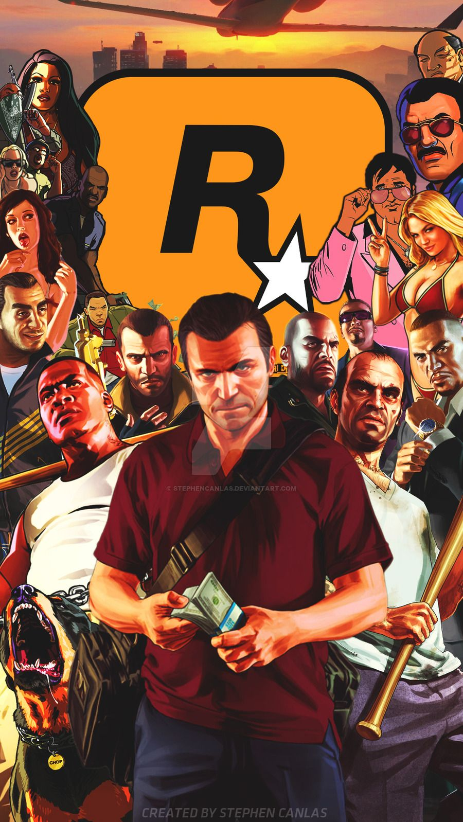 GTA 5 iPhone Wallpaper - WallpaperSafari
