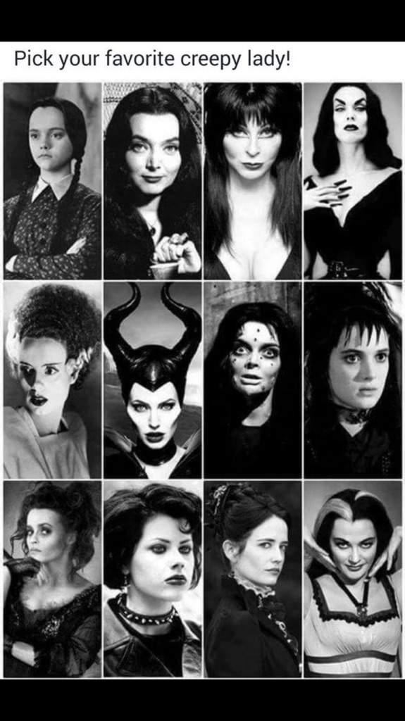 Lovely ladies of horror   Horror Amino
