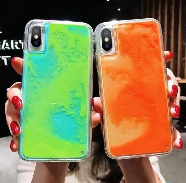 Noctilucent Quicksand Back Cover for I Phone 8 Plus Case 6 6s 7 X Xr P – elega...,  Noctilucent Quicksand Back Cover for I Phone 8 Plus Case 6 6s 7 X Xr P – elega...,