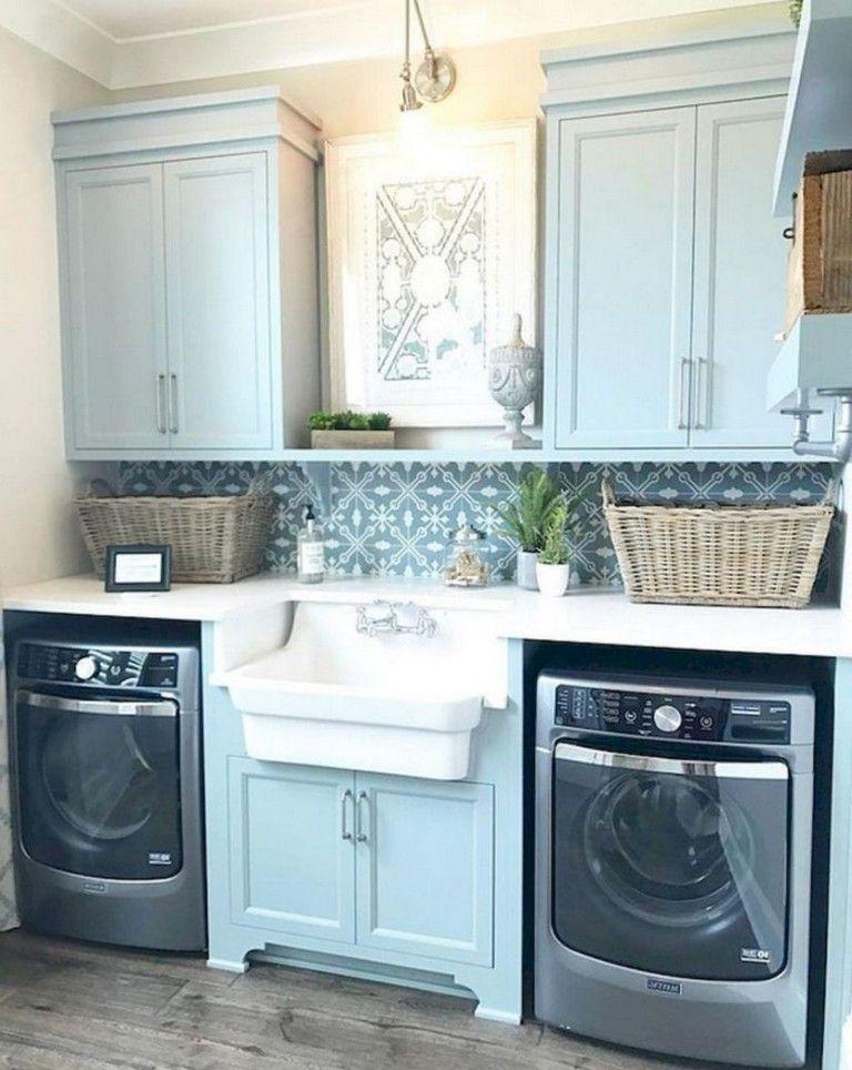 40 Smart Laundry Room Storage Organization Ideas To Amaze You Farmhouse Laundry Room Laundry Room Decor Laundry Room Inspiration