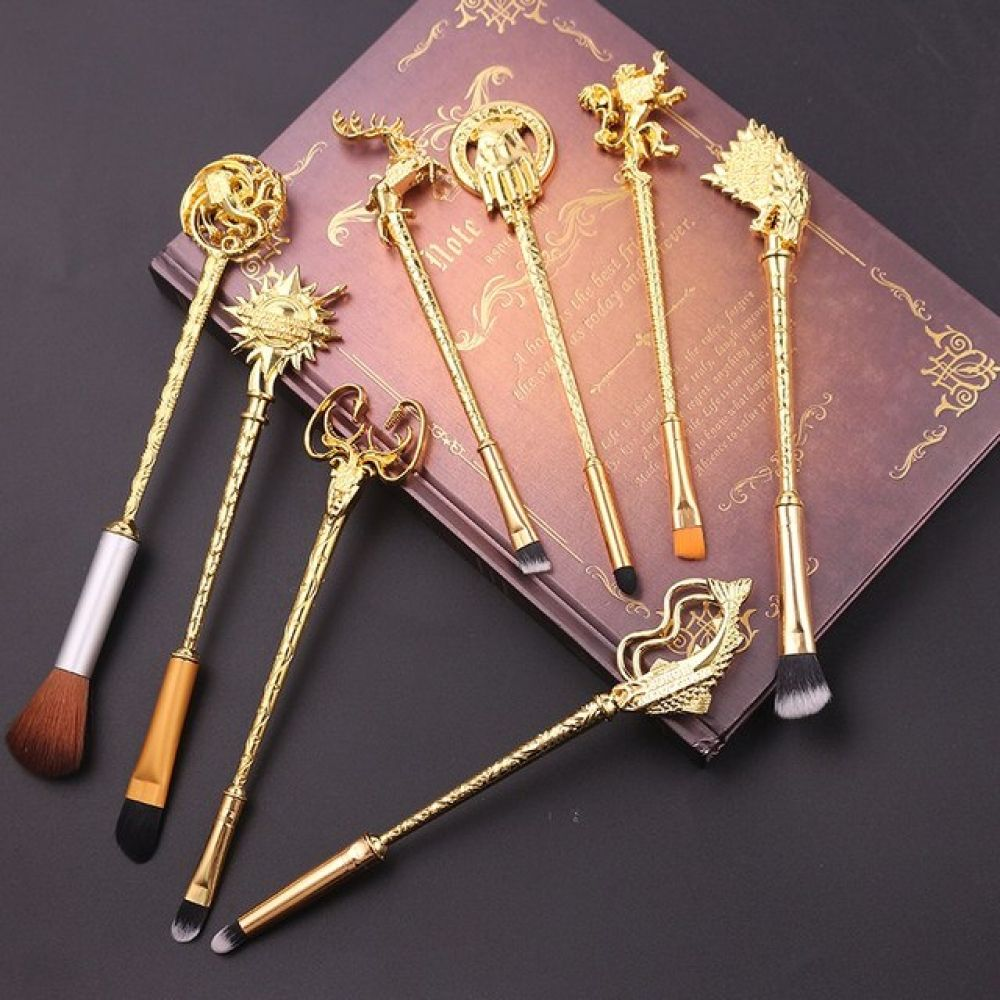 5 Colors Movie Game of Thrones Makeup Brush Set Soft