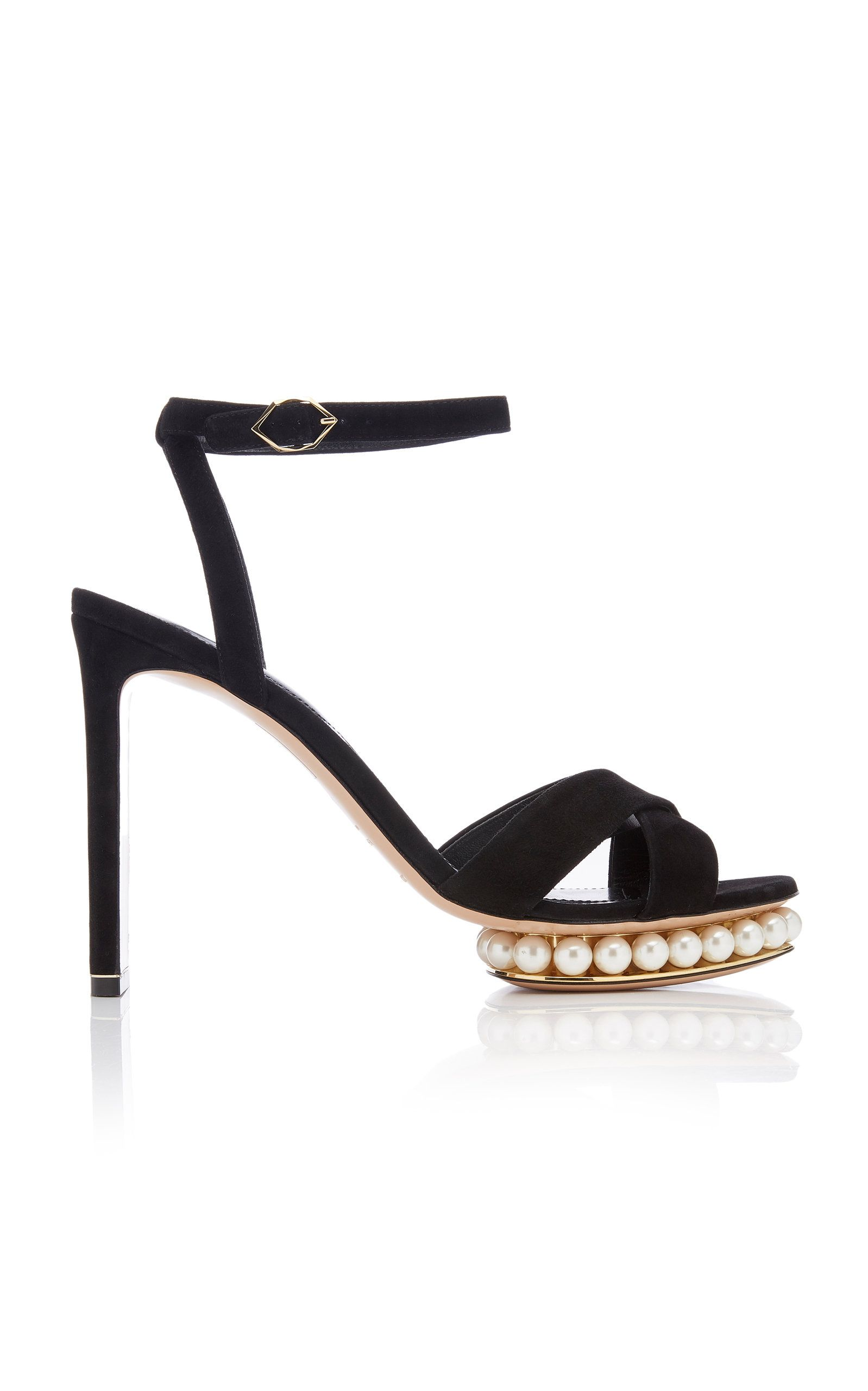 c59247b225613 NICHOLAS KIRKWOOD: Casati Embellished Leather Platform Sandals ...