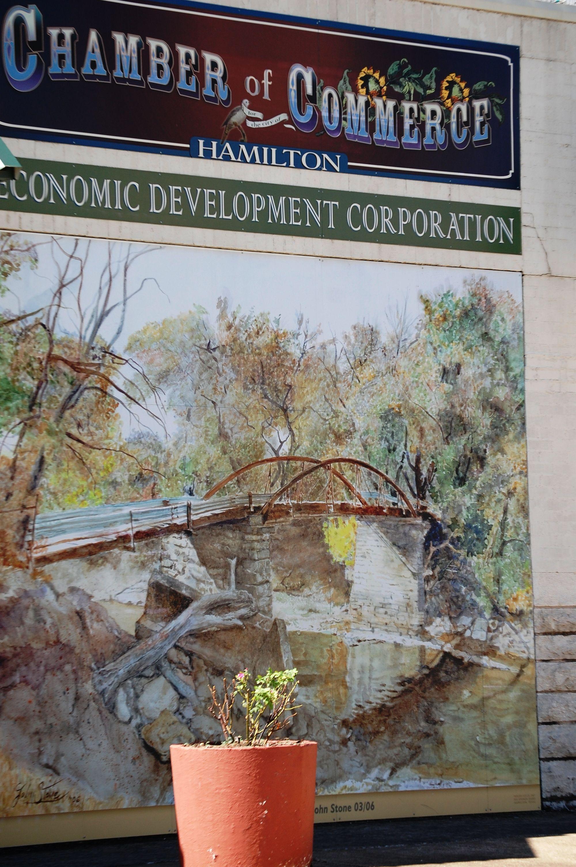 Wall Mural In Hamilton, Texas