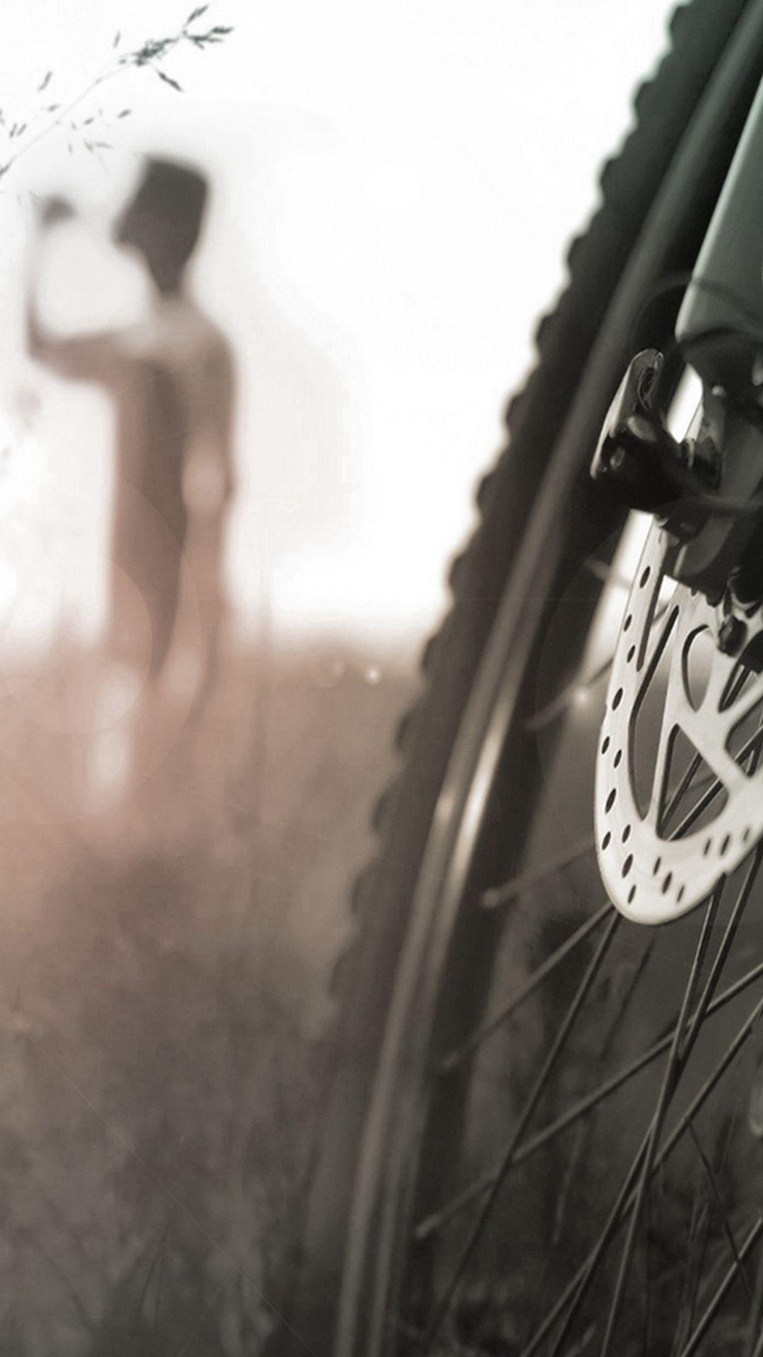 Macro Bike Wheel iPhone 6 wallpaper Bike wheel