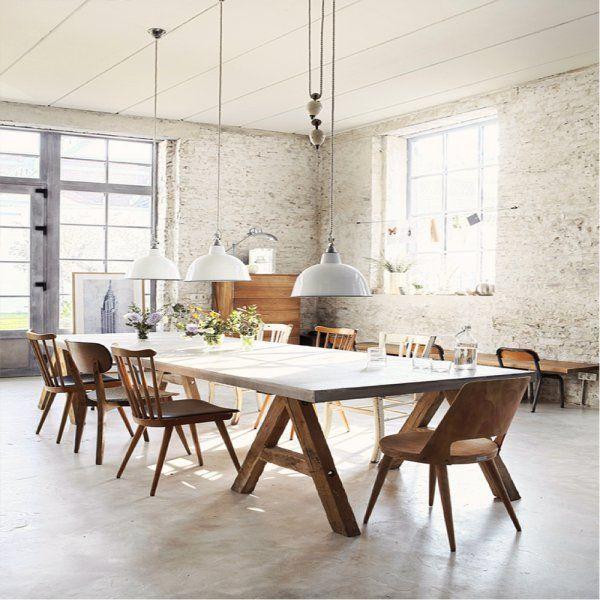 Le marbre la star de nos intérieurs Tables, Salons and Dining area