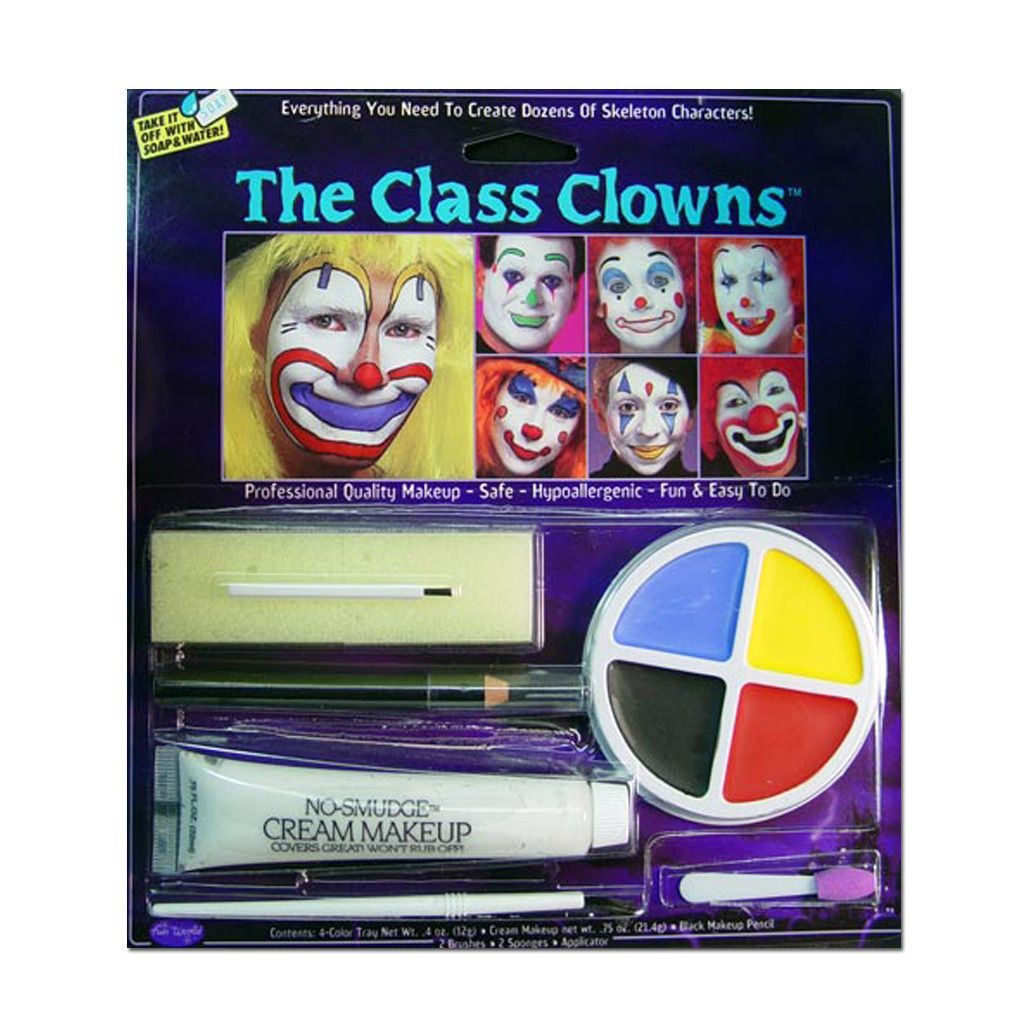 Class of Clowns Halloween Makeup Kit Face Paint