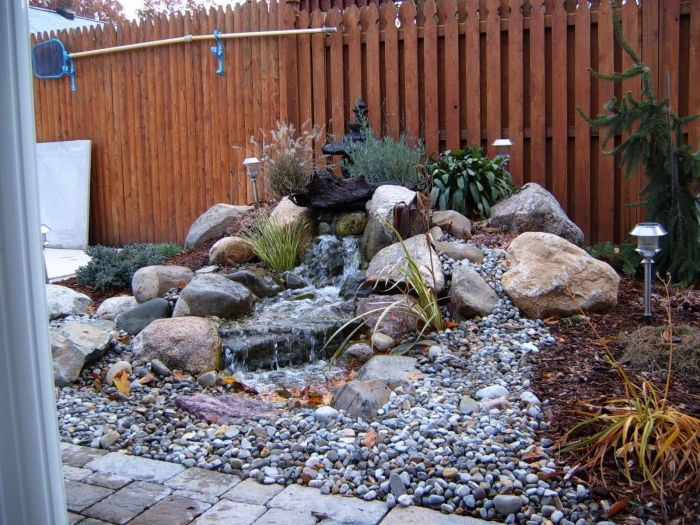 Disappearing Pondless Waterfall Ideas Northern New Jersey Nj Favorite Ponds And Things