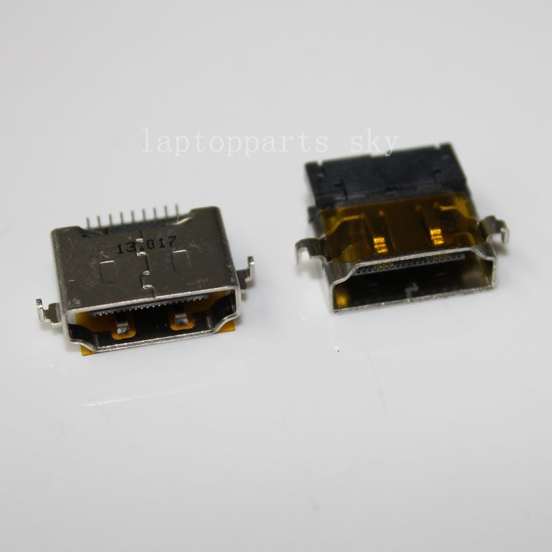 1piece Mini Hdmi Male 19pin Jack Connector C Type With Pcb Board Hd Data Interface Usb Jack With Images Hdmi Usb Connectors