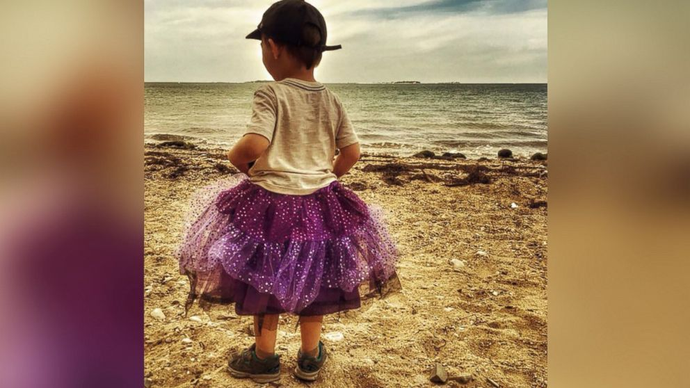 Ballad of the Purple Skirt or Boys will be Boys?