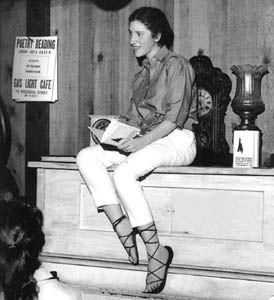 Diane di Prima, the female Beat poet who stood her ground with those macho guys.