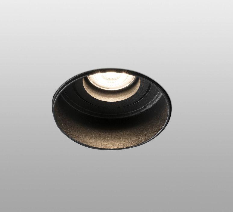Spot Encastrable Hyde Orientable Trimless Blanc O8 2cm H11cm Faro Design Espagnol Spot Encastrable Et Lumiere De Lampe
