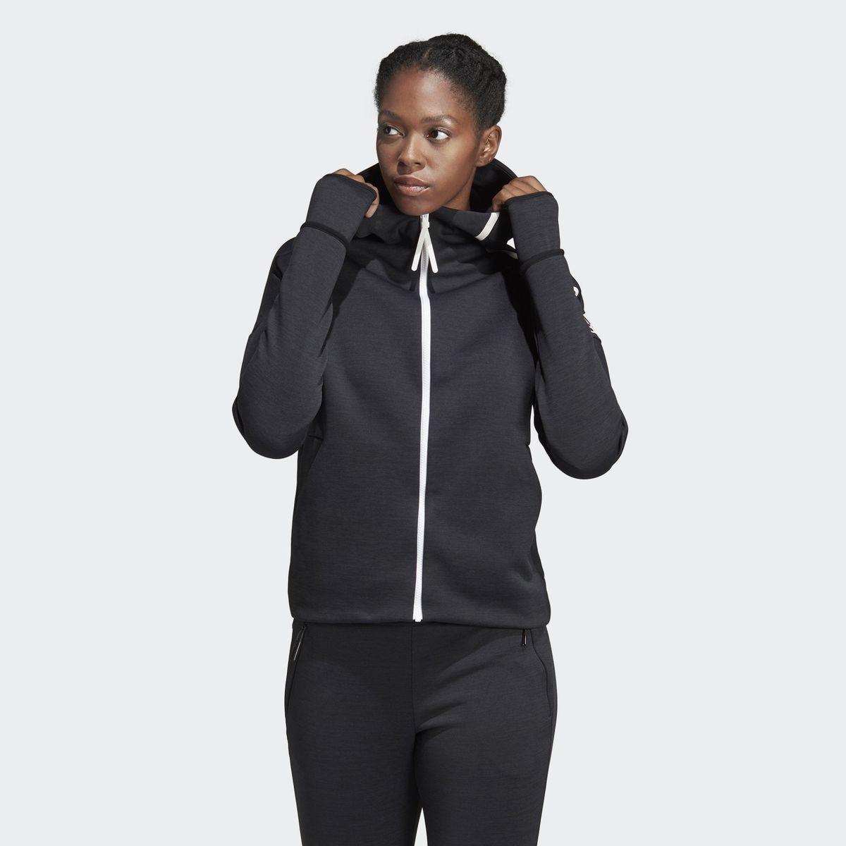 Veste Adidas Z.N.E. Parka Noir Femme Vente