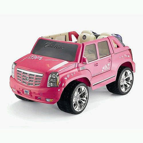 Power Wheels Fisher Price Barbie Cadillac Escalade Pink